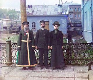 Sergei Mikhailovich Prokudin-Gorskii - Three generations